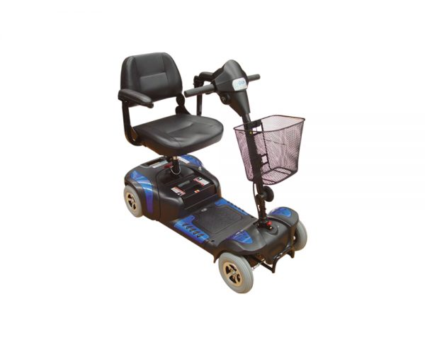 Scooter compacto de 4 ruedas izzyGo